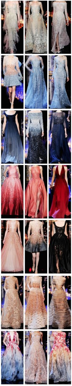 Elie Saab Haute Couture F/W 2014-2015 jαɢlαdy. Im in love with each one of these.