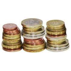 Euro Notes Euro Coins Clipart ❤ liked on Polyvore featuring fillers, money and object