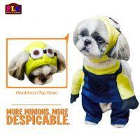 minion dog costume | Despicable Me Minion Dog Costume By PetLovers Closet, Philippines