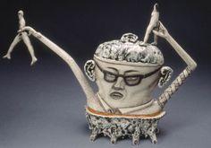Sergei Isupov (b. 1963), Russian-born ceramic artist. I Do Not Want Reincarnation.