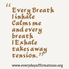 Affirmations for Health, Affirmations for Weight-loss, Daily Affirmations 2014