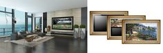 Television Disguised as a Painting | The Latest Devices in Modern Smart Home Technology