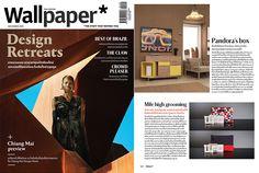 Wallpaper publications, Pandora sideboard! #wallpaper #press #sideboard #pandora #wewood