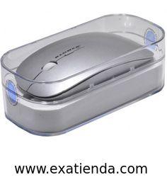 Ya disponible Rat?n Kloner wireless slim plaa   (por sólo 15.95 € IVA incluído):   - Ratón Slim Wireless plata  - Wireless USB: 2.4 GHz - El nano receptor USB que se puede guardar en el interior del ratón - Sensor óptico de 800/1600 dpi con Botón de selección - Diseño elegante y ergonómico de uso preciso y confortable para mano derecha e izquierda - Compatible con: Microsoft Windows 98E/2000/XP/Vista/W7 y MAC - Sistema de Optimización de energía con luz de alarma