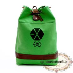 EXO Canvas Backpack (JNS0008) Material : Canvas Height : ~45 cm Thickness :~14 cm Bottom :~30 cm
