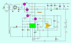 0 30v 0 5a Regulated Variable Power Supply Circuit Eleccircuit Com In 2020 Power Supply Circuit Electronics Circuit Power Supply
