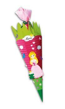 Schultüte Bastelset Prinzessin inkl. Schulstarterpaket GRATIS-Bastelshop für Hobby und Creative Freizeit
