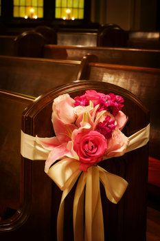 Wedding, Decor, Church, Annie m events - Photo by Annie M. Events