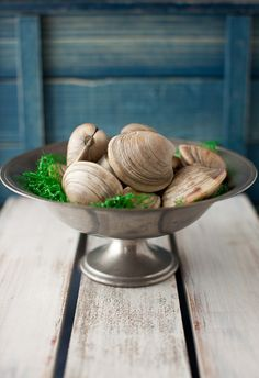 We steamed on the grill over 17 dozen cherrystone clam at our Annual Pig Roast this past weekend - they were ALL gone by the end! Everyone loved them! Delicious!