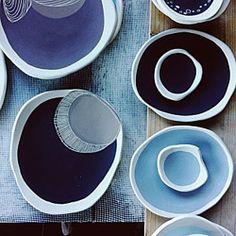 Ebb Tide range by Kim Wallace Ceramics
