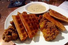 poulet et gaufres | chicken and waffles