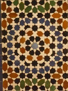 Islamic tile pattern