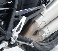 R&G Exhaust Hanger for BMW R nineT '14-'17 | Black | TwistedThrottle.com