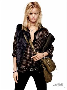 Frida Aasen for Sanctuary Fall 2014 by David Roemer
