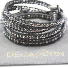 Wrap Bracelet Carbon