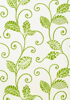 WATERBURY TRAIL, Green, T9267, Collection Avalon from Thibaut