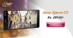 "The best #smartphones are selling out fast on CountryOven. Hurry up! Gift this ""#SonyXperiaC5"" to your loved ones.!"