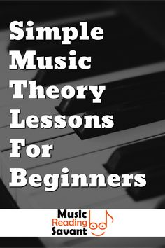 Simple Music Theory Lessons For Beginners! Music theory every musician should know! Learn basic music theory terms and learn to understand music with Music Reading Savant. How to read music and how to learn music notes. Music Theory For Beginners, Basic Music Theory, Music Theory Lessons, Violin Lessons, Learning Music Notes, Reading Music, Rudiments Of Music, Benefits Of Music Education, Music And The Brain