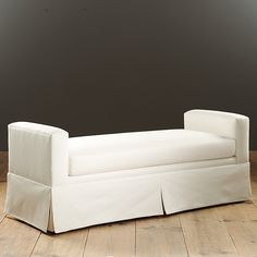 """Napier Bench 63"""" long...throw pillows across back if placed at wall for a more casual relaxed look"""