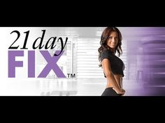 21 Day Fix Workout - Total Body Cardio Fix Full Workout Video Day 1 - YouTube
