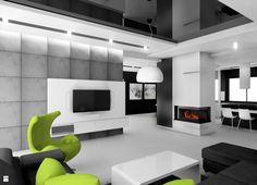 Salon styl Minimalistyczny - zdjęcie od Manufaktura Studio grupa projektowa - Salon - Styl Minimalistyczny - Manufaktura Studio grupa projektowa