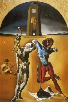 Salvador Dali - The Poetry of America, 1943