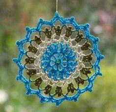 Mandalas En Crochet - $ 100,00 en MercadoLibre