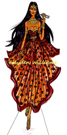 'Halloween Masquerade' by Hayden Williams: The Egyptian Queen by Fashion_Luva, via Flickr