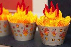 Resultado de imagen para decoracion fuego
