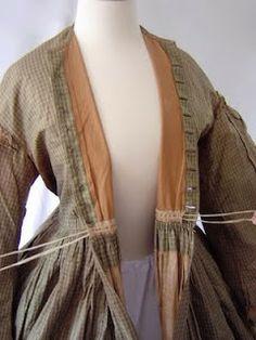 maternity wear 1850's