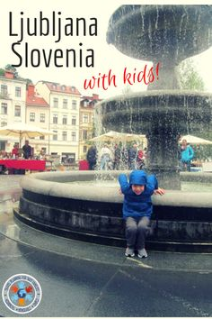 There are a ton of great things to to in Ljubljana Slovenia with kids in tow!  Ljubljana has a great park and market, great ice cream, a cool museum of Illusions and tons more!  Check out our best tips for what to do and where to eat in Ljubljana with kids! #slovenia #ljubljana #familytravel #travelwithkids #europe