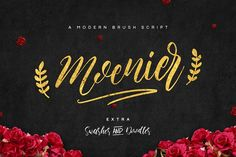 Moenier Font (25% OFF)  by Hindia Studio on @creativemarket