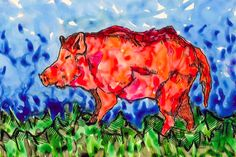 Glow in the Dark Bacon by Arpita Choudhury via The Science of Illustration