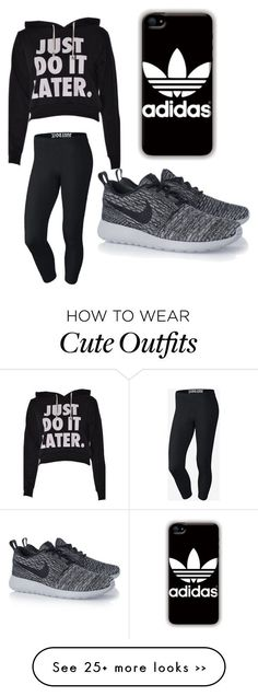 """Omg this is such a cute lazy day out fit is a cute lazy day outfit or you could go work out."
