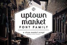 Uptown Market by Brittney Murphy Design on @creativemarket