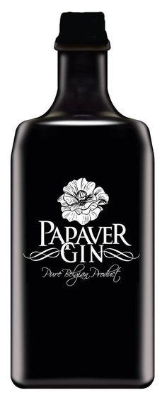 poppies gin 40% - Rubbens Gebroeders