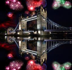 We're taking you to London for New Years 2013! Watch the fireworks over the London Bridge!