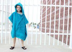 DIY Hooded Towel : DIY Hooded Towel Poncho