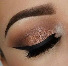 Gorgeous smoky eye