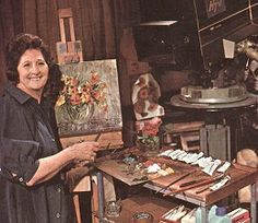 Paint along with Nancy Kominsky. Daytime TV if you were off school sick. 1970s Childhood, My Childhood Memories, Retro Kids, Vintage Tv, Teenage Years, Coming Of Age, Old Tv, Classic Tv, Nostalgia