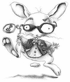 """White Rabbit"" by Nora Thompson Illustrators, Rabbit, Magic, Draw, Writing, Design, Bunny, Rabbits, Illustrator"