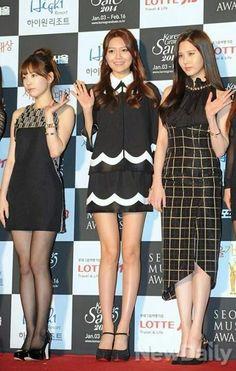 Snsd at Seoul music awards