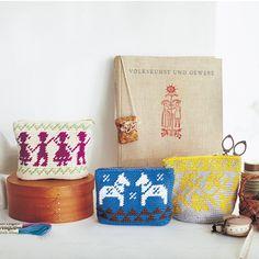 zakka collection [雑貨コレクション]|あこがれの北欧風模様を編みこむ かわいいかぎ針編みポーチの会(6回限定コレクション)|フェリシモ