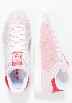 adidas Originals STAN SMITH - tomato/white