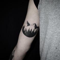 Tattoo mountain