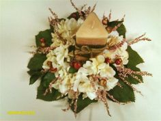 Wedding Centerpiece : Round smaller design made in Chocolate and cream for the Modern Bride for any reception table