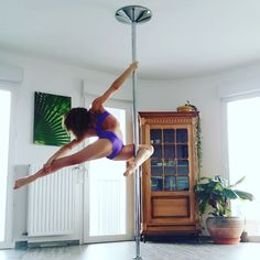 This.  Pole dancing at its finest. Check out portable Wacces Dance Pole sets at wacces.com