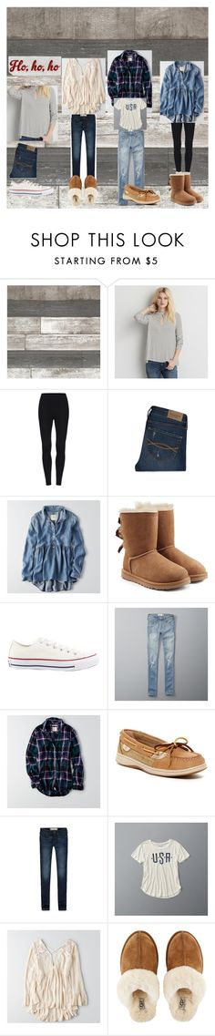 """""""Next week's outfits"""" by jesca27 on Polyvore featuring American Eagle Outfitters, Abercrombie & Fitch, UGG, Converse, Sperry and Edie Parker"""