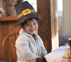 Kids' Pilgrim Hat - love this!!!