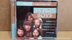 BEACH BOYS. VOCES LEGENDARIAS. CD / CRIN - 2001. 12 TEMAS / CALIDAD LUJO.